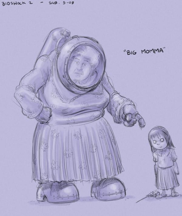 big daddy bioshock artwork